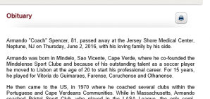 NJSA Hall of Famer Armando Spencer Passed Away