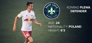 Konrad Plewa joined Saint Louis FC