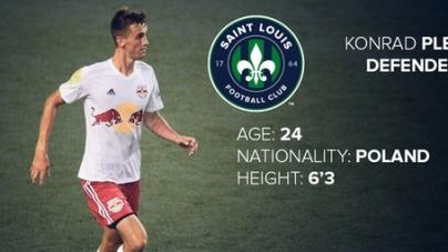 Konrad Plewa joined Saint Louis FC