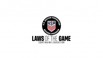 U.S. Soccer Federation Referee Training Videos