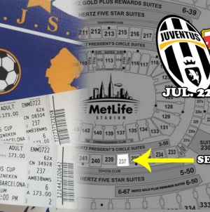 [FOR NJSA MEMBERS] Special tickets for the game Juventus – FC Barcelona