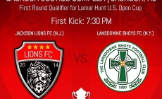 US OPEN CUP: Lions to play Lansdowne Bhoys FC