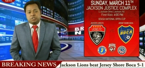 Lions on the news!
