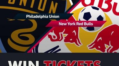 Win tickets for the New York Red Bulls vs. Philadelphia Union game!