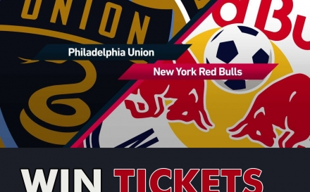 Win tickets for the New York Red Bulls vs. Philadelphia Union game!
