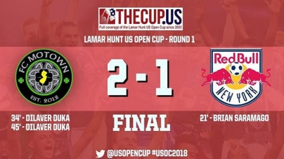 VIDEO RECAP: Motown advanced to the 2nd round of the U.S. CUP after a 2-1 win over New York Red Bulls U23