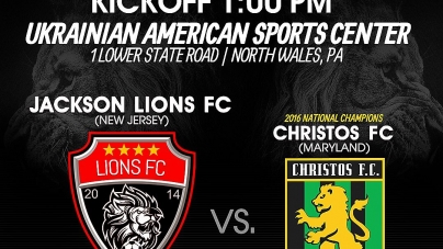 Jackson Lions FC (Garden State Soccer League) at the USASA Region 1 finals