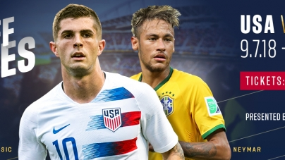 USMNT vs. Brazil (Get your tickets here)