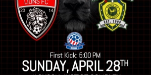 Jackson Lions face Newtown Pride FC in the USASA Region I Open Amateur Cup