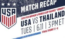 USA – Thailand [RECAP]