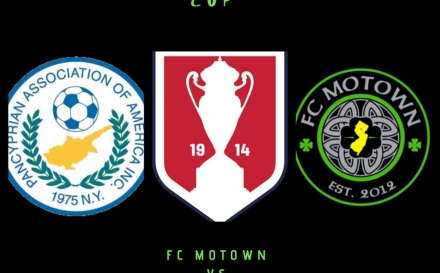 FC Motown will face New York Pancyprian in the U.S. Open Cup