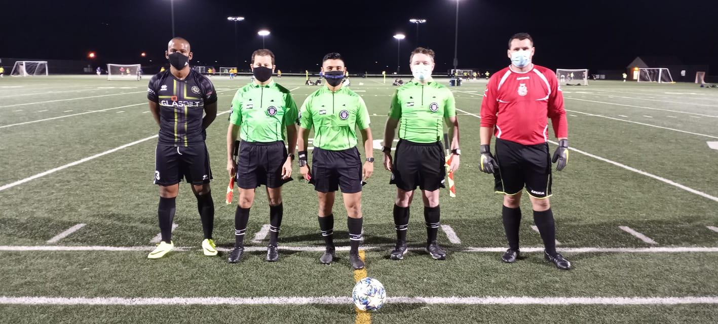 COVID-19 soccer